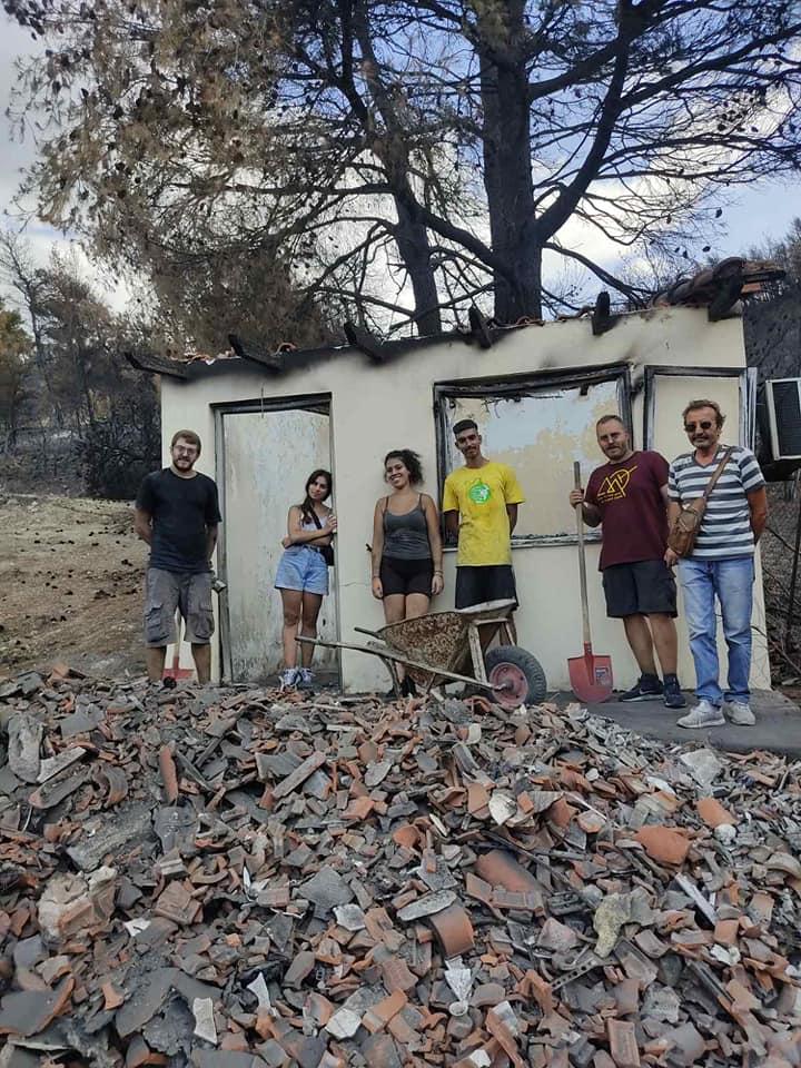 Κλιμάκιο της Νεολαίας ΣΥΡΙΖΑ στην βόρεια Εύβοια