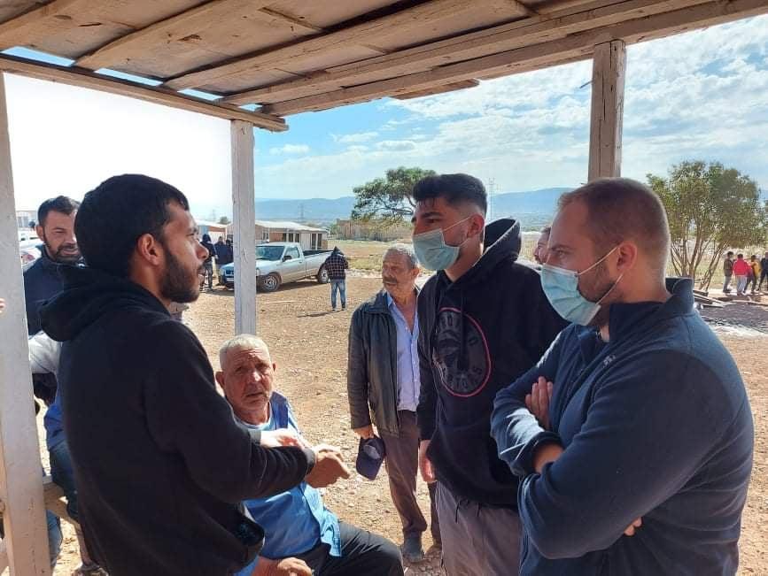 Επίσκεψη αντιπροσωπείας του ΣΥΡΙΖΑ - ΠΣ και της Νεολαίας ΣΥΡΙΖΑ στην οικογένεια του 18χρονου Ν. Σαμπάνη
