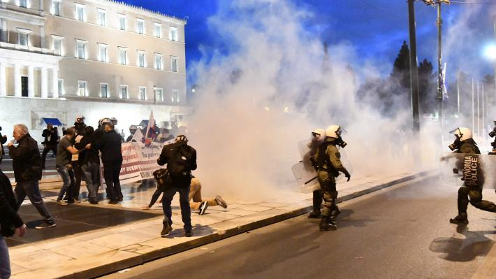Ανακοίνωση για την αστυνομική καταστολή στο πανεκπαιδευτικό συλλαλητήριο